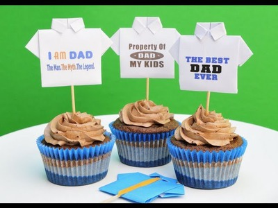 How To Make Father's Day Origami T-Shirts