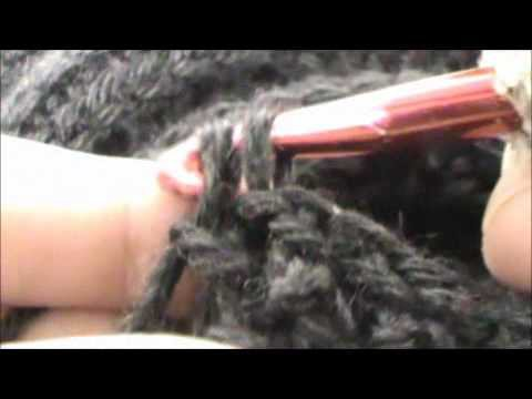 Learn how to crochet the front and back post single extended stitch