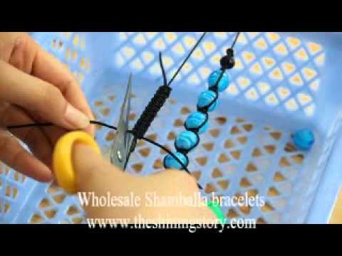 Make your own shamballa macrame bracelets in 15 minutes, rhinestone disco glitter ball bracelets