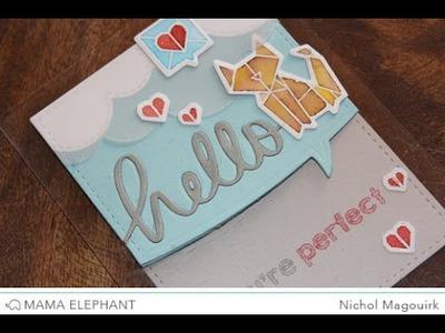 Mama Elephant Designer Series | Origami Creative Cuts