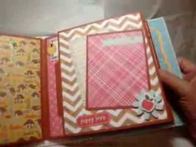 Mini album for Claudette and her cute doggies Roxy and Fuji -- scrapbooking mini album