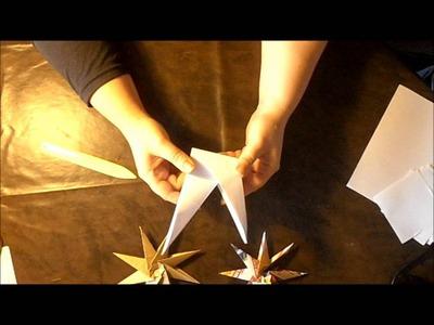 [Noel] n°10 : Deco: Origami de noel
