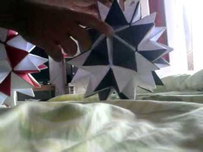 Origami estrela magica
