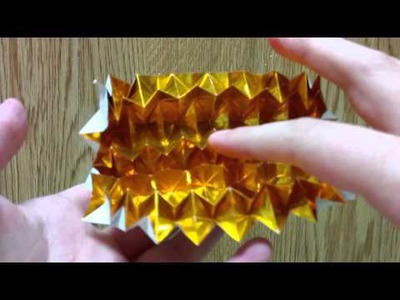 Origami Pineapple Tessellation, Designed By Jeremy Shafer - Not A Tutorial