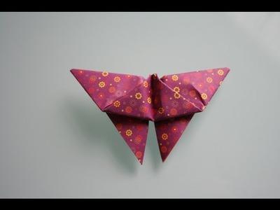 Origami Schmetterling falten origami butterfly