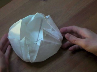 Origami tutorial - Lotus flower