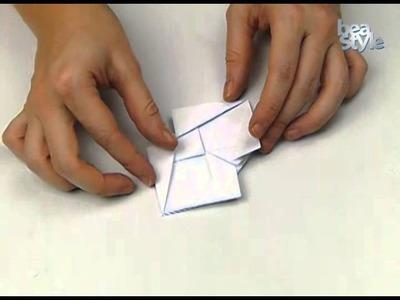 Ovejita en origami: Pesebre Beastyle