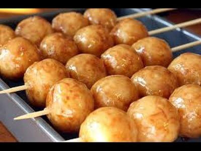 RICE KEBAB OR KARIOKA - How To Cook Filipino Food Recipe (Cooking Show) Asian