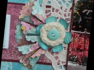 Scrapbook Embellishment Tutorial - Origami Flower and more