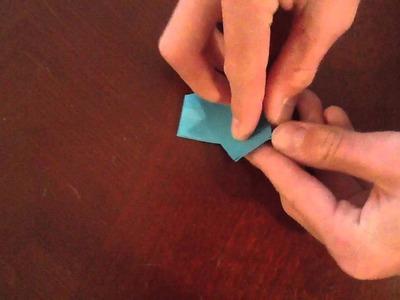 Sticky Note Origami Butterfly