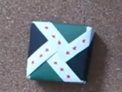 SYRevolutuion Origami Box علبة الثورة السورية