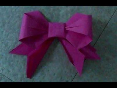 [TUTO] Origami : nœud papillon