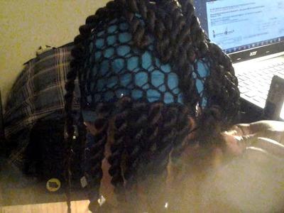 Wig Tutorial ( Crocheted Havana twists)
