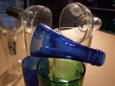 Wine Bottle Cutter 30 seconds Perfect Edge Glass Bottle Cutting GreenPowerScience Guitar Slide