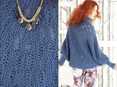 #24 Circle Pullover, Vogue Knitting Winter 2012.13