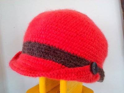 Boina Gorro Elaborada en Crochet