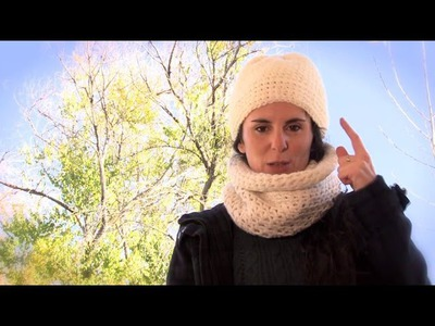 Cómo hacer un gorro y un cuello de ganchillo | How to make a crochet hat and neck warmer