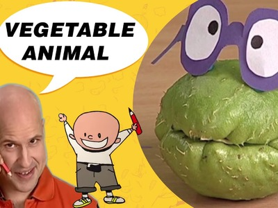 Crafts Ideas for Kids - Vegetable Animal | DIY on BoxYourSelf