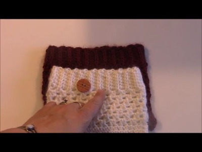 Crochet 102: How to Double Crochet Rib Stitch