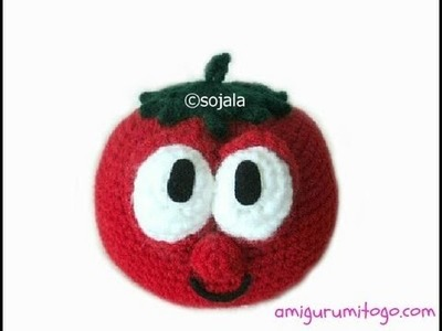Crochet A Charater Tomato (part 0ne)
