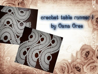 Crochet table runner part one