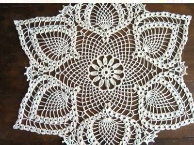 Crochet Tablecloth Patterns -  Nice Photos