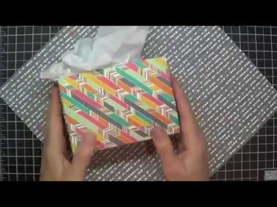 Cute Gift Bag #207: Upcycle Your Scrapbooking Papers