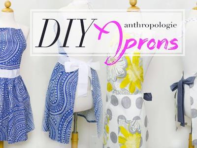 DIY Anthropologie Aprons w. MyCupcakeAddiction | ANNEORSHINE