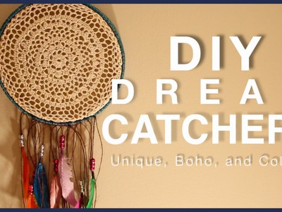 DIY: DREAM CATCHERS! Unique, Bohemian, Colorful