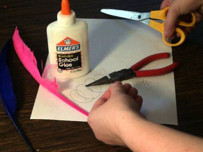 DIY Feather Pens