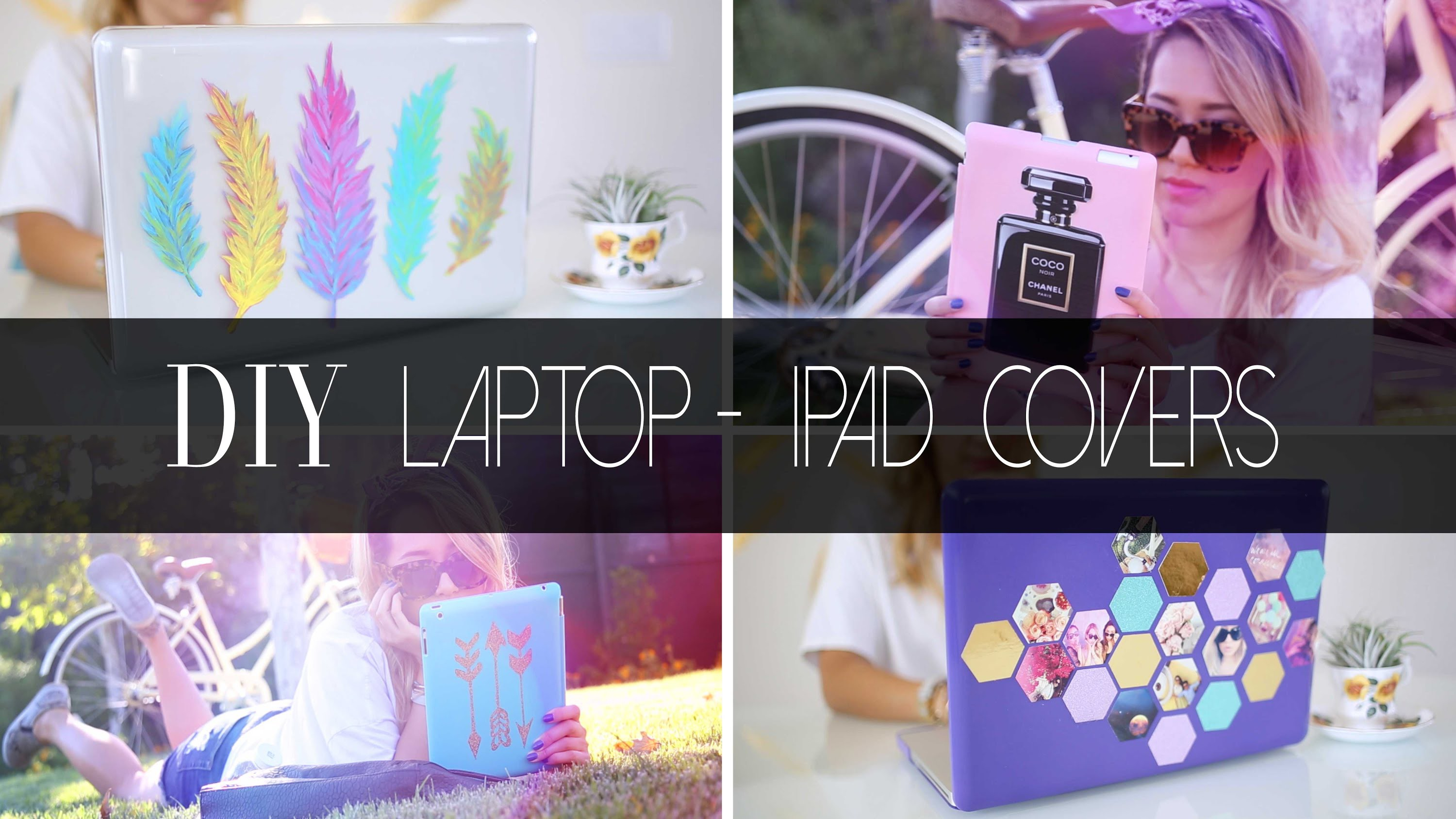 DIY Laptop & iPad Covers  | ANNEORSHINE