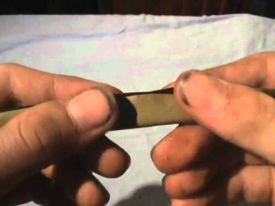 DiY Maryjane : How to roll a blunt : Tutorial