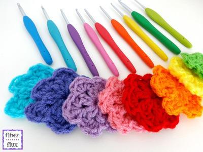 Episode 180: How To Crochet Rainbow Blooms