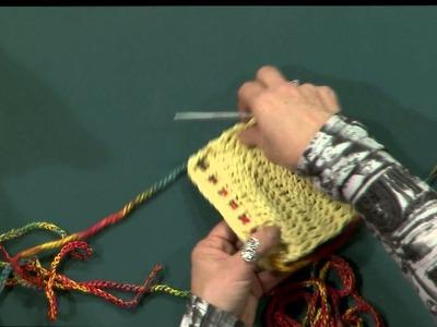 Escuela de Crochet - Portacelular y Almohadón
