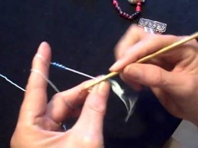 Flatwork Bead-Crochet Tutorial 2