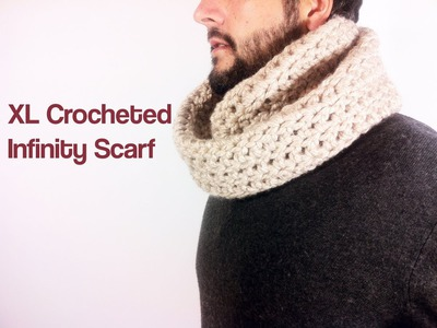 How to Crochet an Infinity Scarf with Bulky Yarn