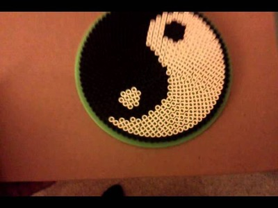 How to make Yin Yang Perler bead