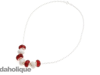 Instructions for Making the Candy Cane Lane Necklace Kit