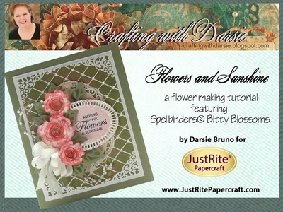 JustRite Papercraft Flowers and Sunshine by Darsie Bruno