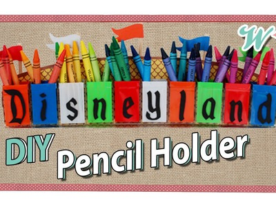 Karen Crafts: Disney Pencil Holder