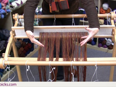 Kelley's Rigid Heddle Weaving Class - Part 7: Prepping the Loom