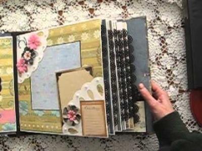 LARGE 11x11 Not-So-Mini Scrapbook Album * FAMILY GENEALOGY