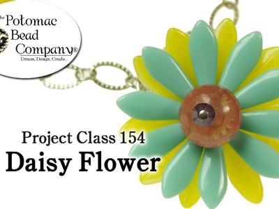 Make a Daisy Flower Pendant