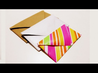 Origami Paper Envelope easy. Papel de Origami Sobre fácil