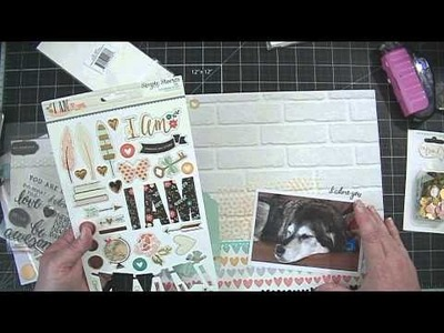Scrapbooking Process Video from Start to Finish!  I Am. . GIVEAWAY CLOSED 3.30.15 AT 4:43 PST