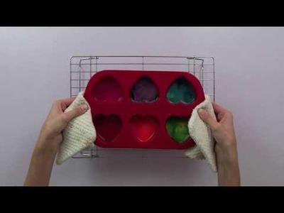 Valentine's Day Crayon Craft For Kids