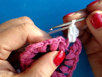 Вязание крючком Урок 247 Как вязать квадрат Crochet granny square