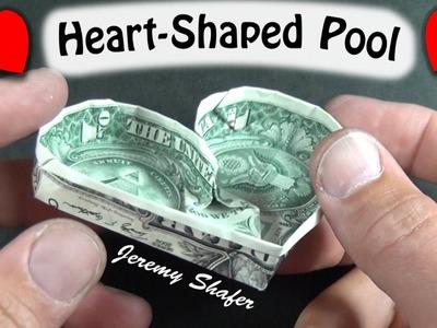 $1 Origami Heart-Shaped Pool