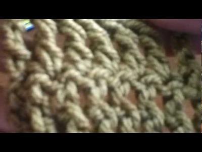 5 Básico Crochet Punto Alto Doble o Vareta Doble