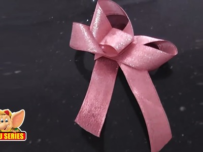 Arts & Crafts - Make A Three Petal Bow